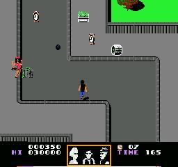 Das NES-Spiel von LJN war der einfach nur schlecht.