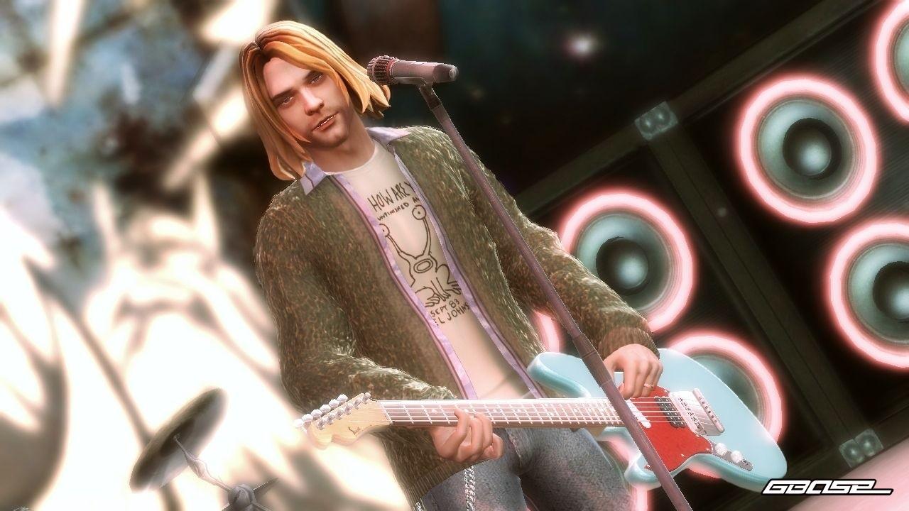 Kurt Cobains digitales Abbild sorgte in Guitar Hero 5 für jede Menge Wirbel